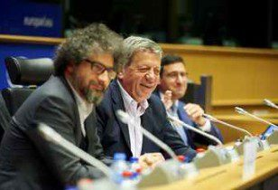 """Speakers from the 2nd Panel """"How to regulate the digital world to better support creation in Europe? """""""