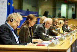 """Speakers from the 1st panel """"What future for copyright in the Digital Single Market? """""""