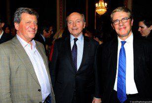 Pascal Rogard, Jacques Toubon, et Patrick Bloche