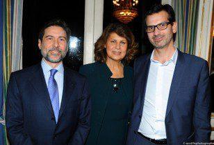 Domenico La Spina, Silvia Costa et Guillaume Prieur